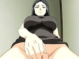 Tits play in hard hentai video